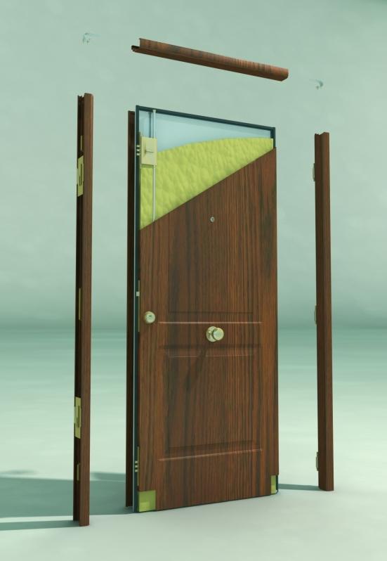 Comprar Dobradiças para Portas Blindadas Erechim - Porta Blindada com Biometria