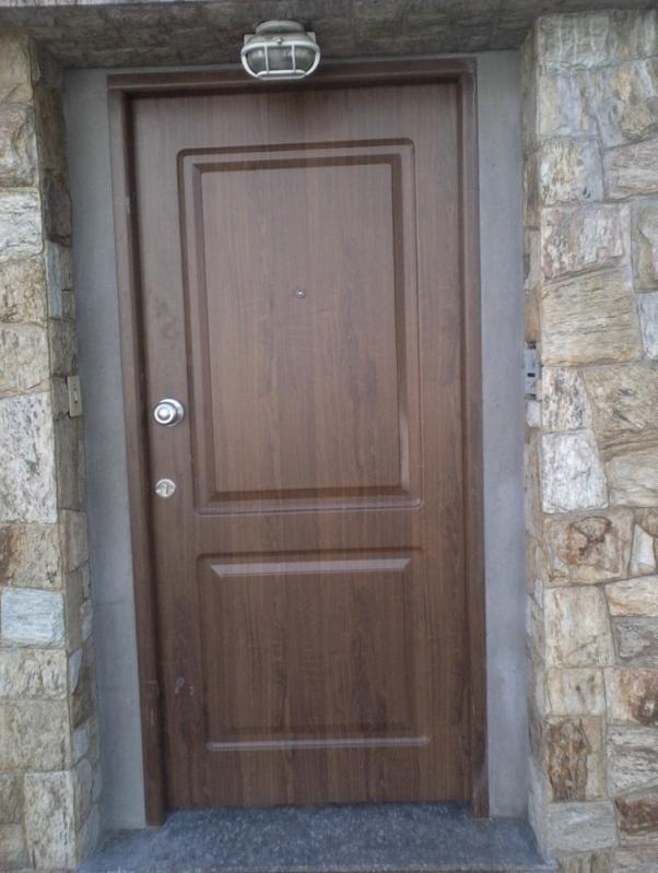 Conserto de Portas Blindadas Valor Quixeramobim - Porta Blindada com Visor