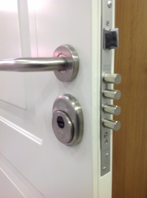 Fechaduras Portas Blindadas Buritis - Porta Blindada com Biometria