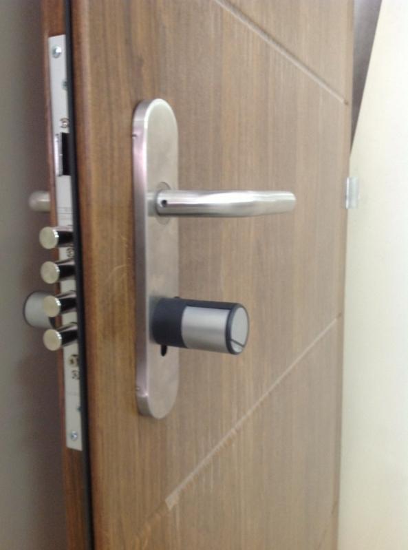 Porta Blindada Acústica Preço Manaus - Porta Blindada com Vidro