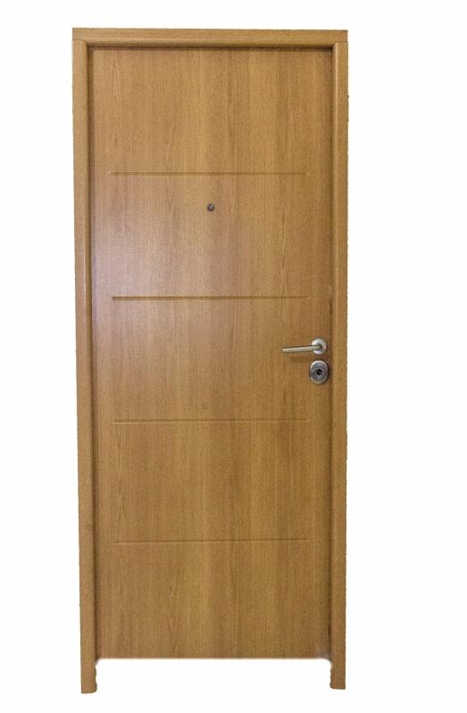Porta Blindada de Madeira Preço Gravatá - Porta Blindada Aço