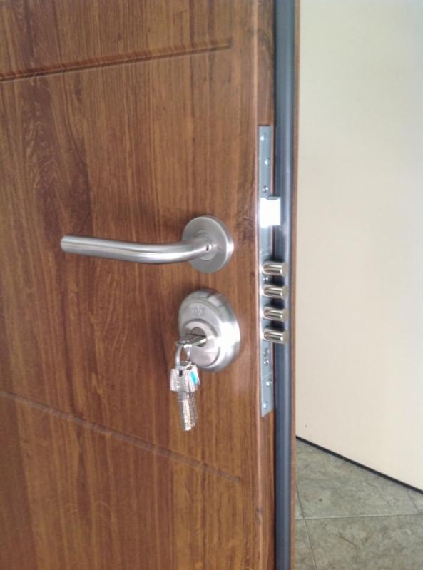 Porta Metálica de Segurança Francisco Morato - Portas Blindadas de Alta Segurança