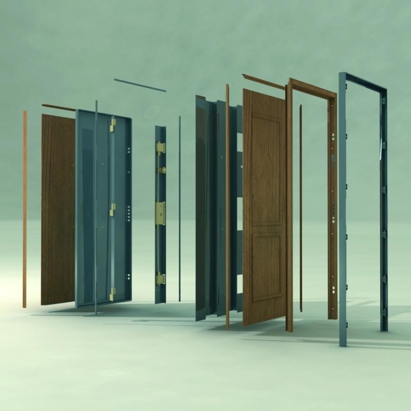 Portas Blindadas de Madeira Preço Teresópolis - Porta Blindada com Vidro