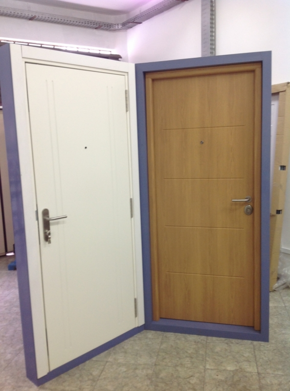 Portas Blindadas para Guaritas Buritis - Portas Blindadas de Alta Segurança