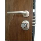 comprar porta blindada de madeira Canindé