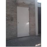 porta blindada com biometria Rio Verde