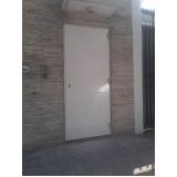 porta blindada com biometria Gravatá