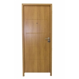 porta blindada de madeira preço Bela Vista