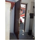 porta blindada para apartamento Vargem Grande