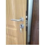 porta blindada resistente na Timon