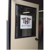 portas blindadas de vidro Vargem Grande