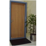 portas blindadas para guarita preço Viamão