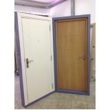 portas de segurança em sp preço em Cascavel