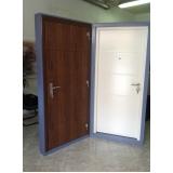 porta blindada resistente