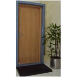 venda de porta blindada de aço Apodi