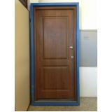 venda de portas blindadas de alumínio Patos de Minas